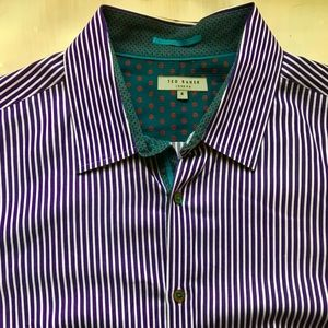 Ted Baker Shirts - EUC Ted Baker London Striped Button Down